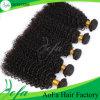 Commercio all'ingrosso della fabbrica di Aofa nessun capelli umani di spargimento del brasiliano del Virgin di groviglio