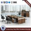 4 sièges Office Partation Workstation avec Mobile Pedestal (HX-CRV003)