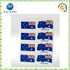 Etiqueta engomada del labio de la bandera de Australia, tatuaje modificado para requisitos particulares manera Stickerjp-Ts040 del arte de cuerpo)