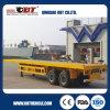 Obt 2 Flatbed Aanhangwagen van de Opschorting van de As de Mechanische