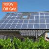 Домашняя польза с электрической системы 10kw решетки солнечной