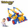 Vehículo educativo del país cruzado de la acometida del camino de la serie del coche del juguete de los bloques de la pista de Thinkertoy (C6402)