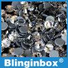 Arreglo caliente cristalino blanco claro de calidad superior al por mayor Rhinetones de China de la fábrica para el accesorio de la ropa