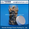 250ml Round Transparent Pet Biscuit Jar