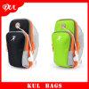 (KL037) Sac imperméable à l'eau fait sur commande de sport pour les sacs courants extérieurs de bras de téléphone cellulaire
