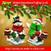 Decoración del hogar del muñeco de nieve de la decoración del árbol de navidad, artículo de la Navidad