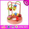 La stringa creativa di nuovo arrivo 2015 borda il giocattolo, il giocattolo organico del bambino dei branelli di legno del labirinto, gioco educativo che tormenta il giocattolo di legno W11b063 dei branelli