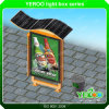 Contrassegno a energia solare della casella chiara