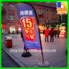 Polyester personnalisé annonçant le drapeau d'indicateur (JT-Y15062506)