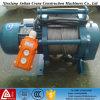 전기 윈치 300-600kg 220V 작은 조밀한 전기 철사 밧줄 호이스트
