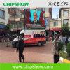 Chipshow P10の屋外のフルカラーの移動式トラックのLED表示スクリーン