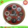 Recuerdo Challenge Coin con Logo Printed en Sticker y Rope Edge