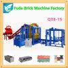 Qt8-15 큰 자동적인 수압기 시멘트 벽돌 기계 가격