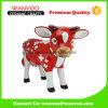 Statua della mucca di natale della porcellana per l'ornamento di festa