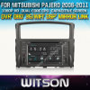 Witson Car DVD para Mitsubishi Pajero Car 2006-2011 DVD GPS 1080P DSP Capactive Screen WiFi 3G Front DVR Camera