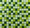 De bevlekte Groene Tegel van het Mozaïek van het Glas Vierkante