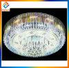 Luz pendiente de la lámpara cristalina grande moderna que cuelga la luz de techo de lujo