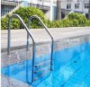 Swimming Pool Stainless Steel Ladder에서 Ground 3 단계