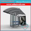 Móveis Pública de Bus Stop para para publicidade