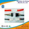 Varón de la muestra libre a la asamblea de cable femenina del adaptador