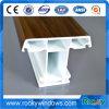 Perfis brancos de UPVC para o frame de indicador plástico