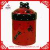 Vaso di ceramica lustrato dell'animale domestico