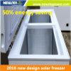 50% energiesparender Haushalt 12V Gleichstrom-Solargefriermaschine