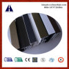 Profil de PVC d'UPVC coloré par fibre de bois pour Windows/glisser/oscillation/inclinaison et spire