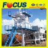 Planta de procesamiento por lotes por lotes concreta móvil automática caliente 35m3/H de la venta en julio
