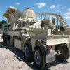 Rotella-Mounted Mobile Cone Crushing e Screening Plant