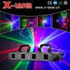 Luzes do partido do disco do laser, luzes do projetor do laser de DMX