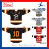 Uniformes blancs d'hockey sublimés par teinture la meilleur marché de Healong