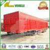 La suspension d'air de trois essieux protègent la remorque de cargaison de cadre de marchandises