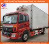 4*2 de mini Gekoelde Vrachtwagen van het Overzeese Voedsel