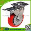 HochleistungsCaster mit Polyurethane Wheel, Swivel mit Brake Caster