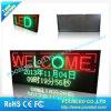 Exhibición de LED publicitaria tricolora P10