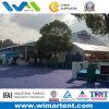 Barraca da feira de comércio do evento das exposições