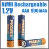 Batería recargable AAA 900mAh de NiMH del consumidor
