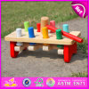 2015 Table di bussata Pounding Bench Toddler Toy, Eco-Friendly Handmade Wooden Toy per Kids, Hitting Toy, Kids Knocking Toy W11g017