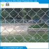 Frontière de sécurité enduite galvanisée de maillon de chaîne de PVC d'acier inoxydable