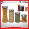 Großhandelsglasnahrungsmittelbehälter mit Kappen-Glassüßigkeit-Glas