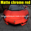 Neues Matte Chrome Film in Red Color für Car Wrapping mit Air Ducts