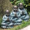 庭Decorationのためのガラス繊維Large仏Statues