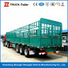 Hot Sale에 Factory Price를 가진 Q345 Carbon Steel Tri Axle Fence Semitrailer
