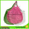 Kundenspezifische kurze Griff-Frucht-Baumwollnetz-Ineinander greifen-Einkaufen-Beutel beschriften