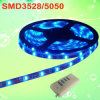 L'indicatore luminoso della corda del LED, morbidezza del LED mette a nudo SMD3528 SMD5050