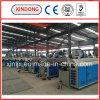 4繊維PVC管の放出ライン
