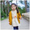 Ropa amarilla suave 100% de los cabritos del algodón para las muchachas