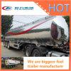 52000 del litro BPW del árbol de gasolina del depósito acoplado de aluminio semi