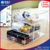 Nivel 3 gaveta de almacenamiento Organizador de acrílico
